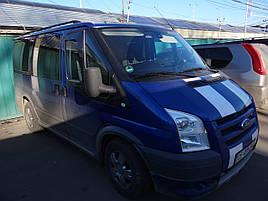 Дефлекторы окон (ветровики) Ford Transit 2000-2014  2шт (Heko)