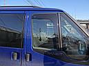 Дефлекторы окон (ветровики) Ford Transit 2000-2014  2шт (Heko), фото 2