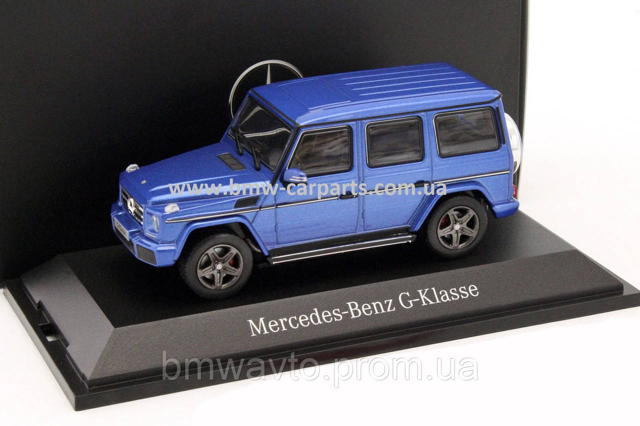 Модель Mercedes-Benz G-Class, W463, Model year 2015, Mauritius Blue