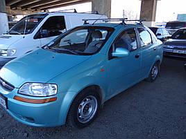 Дефлекторы окон (ветровики)  CHEVROLET AVEO - 4d 2004r.-2006r.(HEKO)