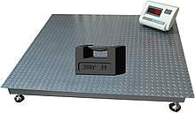 Поверка платформенных весов