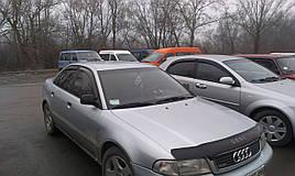 Дефлекторы окон (ветровики) Audi A4 4D 1995-2001Sedan 4шт (Hic)