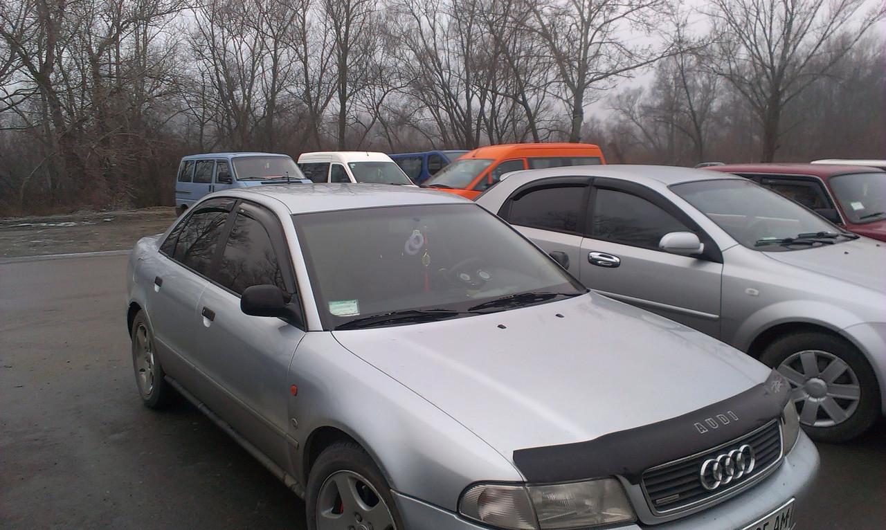 Дефлектор капота, мухобойка AUDI A4 (кузов 8D,B5) с 1994-2001 г.в. VIP