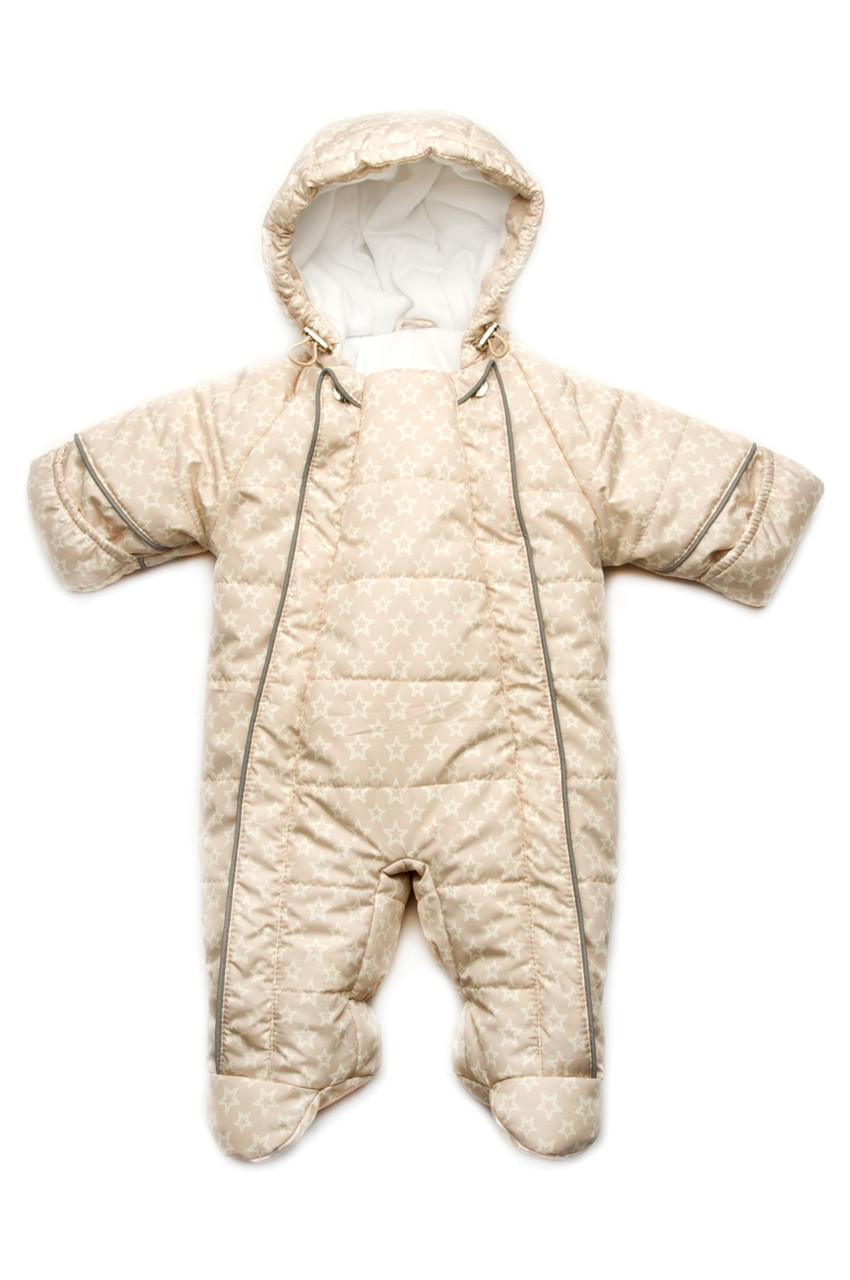 Зимний комбинезон для малышей от рождения до 1 года