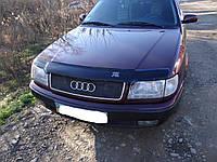 Дефлектор капота, мухобойка Audi 100 - 45 90--94 VIP