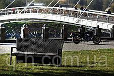 Софа плетеная из ротанга искусственного трехместная Калифорния (California-04) 190x70x98 см, фото 3