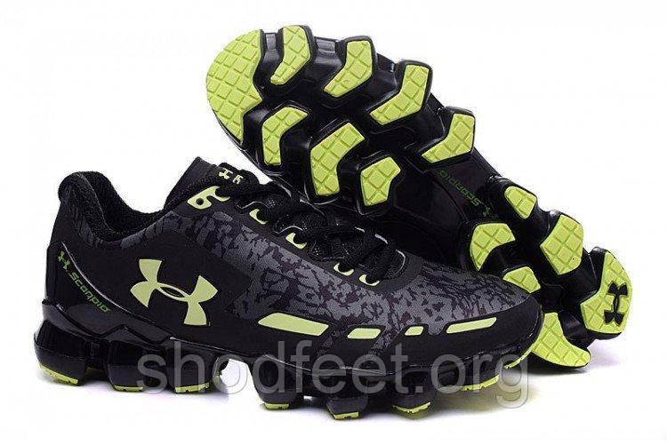 Чоловічі кросівки Under Armour Scorpio Black Green