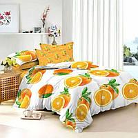 Апельсин, ткань сатин (Пакистан)