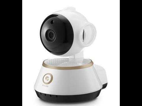 IP-камера Digoo DG-M1X Champagne Gold с LAN и дистанционным управлением обзора