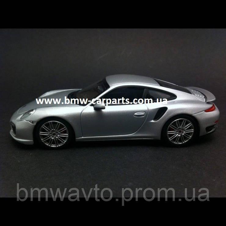 Модель автомобиля Porsche 911 Turbo Grey, фото 2