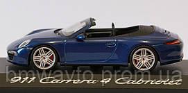Модель автомобіля Porsche 911 Carrera 4S Cabriolet