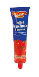 Томатная паста (двойной концентрат) Doppio concentrato di pomodoro Delizie Sole 200г Италия