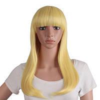 Перука довгий колір блонд