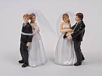 Фигурка на свадебный торт, 2 шт, 10 см
