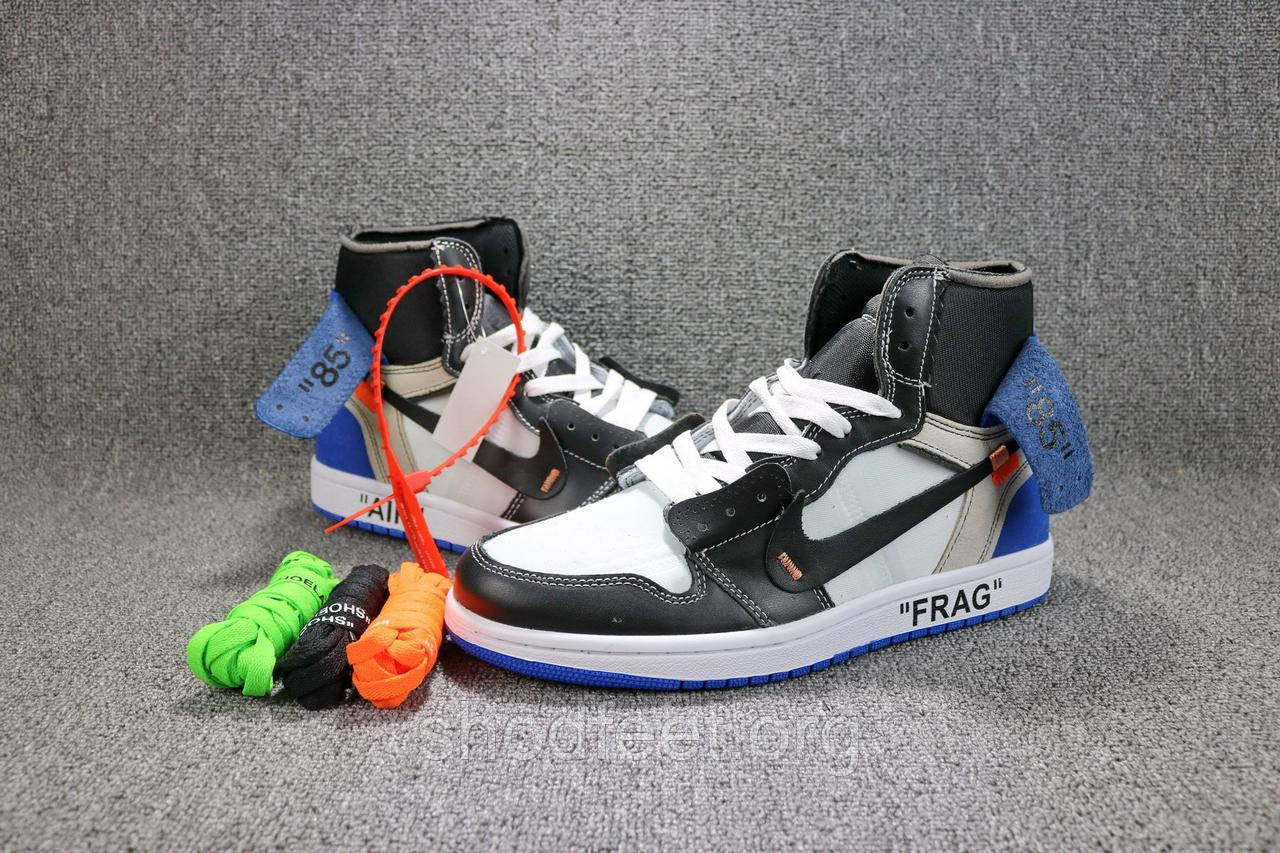 Мужские кроссовки Off-White x Air Jordan 1 NRG