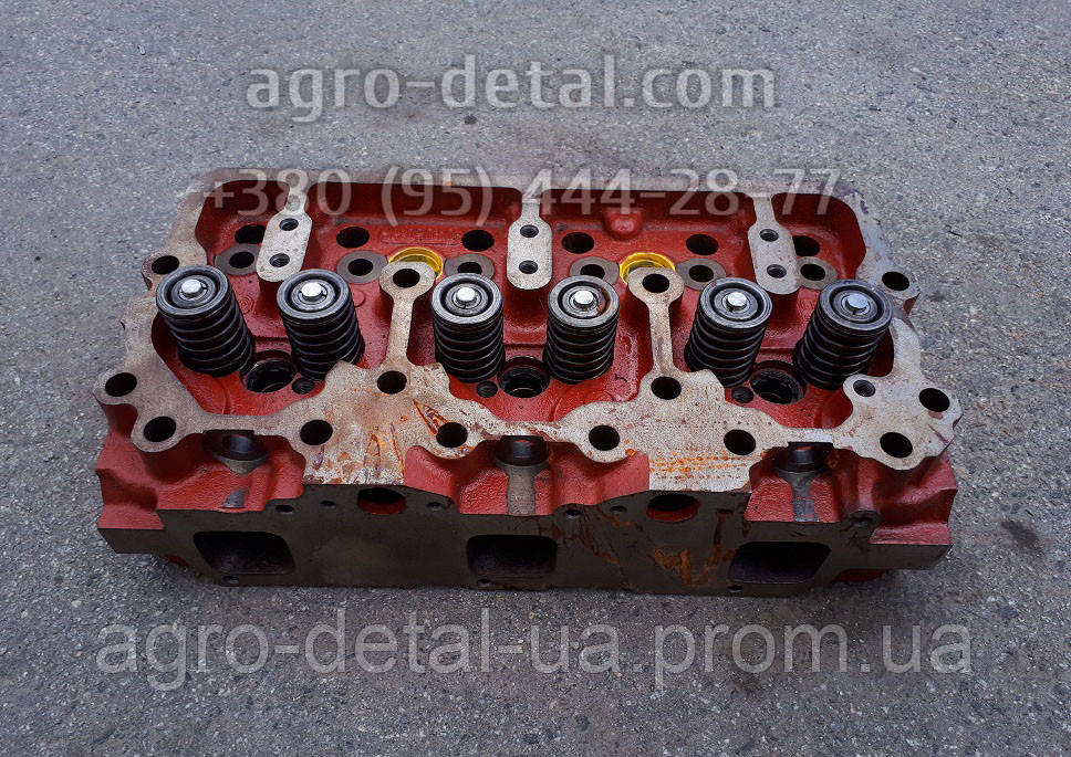 Головка блока цилиндров 04-06С1-1 в сборе с клапанами (01МТГ-06с9-10) двигателя А 01,А 01М
