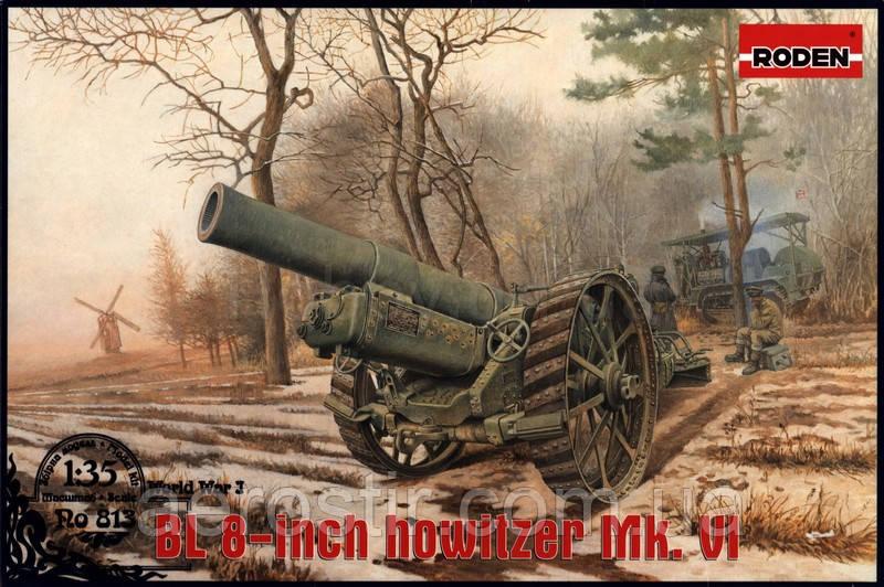BL 8-inch howitzer Mk. VI 1/35 Roden 813