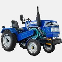 Трактор T 24PMH (генератор и радиатор  под капотом)