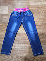 Джинсы для девочек оптом, Ke Yi Qi, 98-128 см,  № M84, фото 1