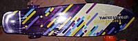 Скейт пениборд Best Board, доска-55см, колёса PU, светятся, d-6см, фото 1