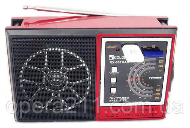 Радио Golon RX-002 UAR USB+SD,