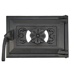 Дверца для печи поддувальная 102831, зольная дверка с регулировкой подачи воздуха