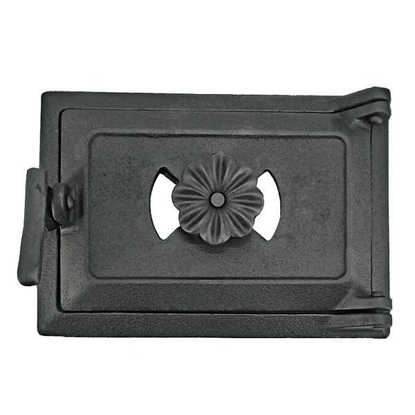 Дверца поддувальная для печи 102832 с регулировкой подачи воздуха
