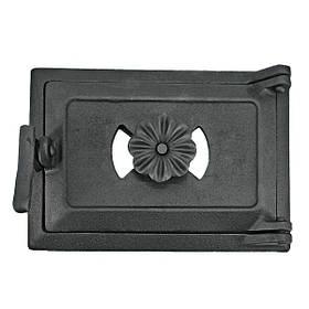 Дверца для печи поддувальная 102832, зольная дверка с регулировкой подачи воздуха