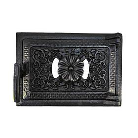 Дверца для печи поддувальная 102833, зольная дверка с регулировкой подачи воздуха