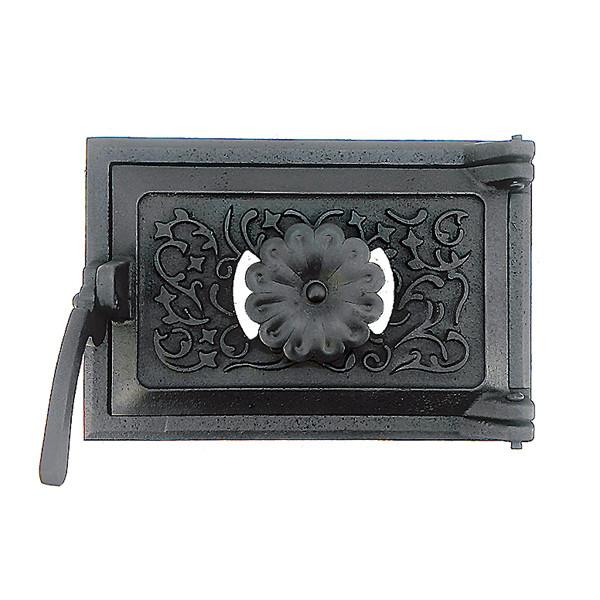 Дверца для печи поддувальная 102834, зольная дверка с регулировкой подачи воздуха