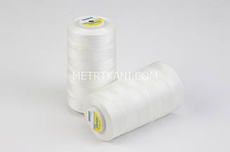 Нитки швейные  5000 ярдов, цвет айвори № N50-40-110