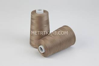 Нитки швейные  5000 ярдов, светло-коричневого цвета № N50-40-193