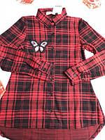 Рубашка для девочек от 8 до 14 лет