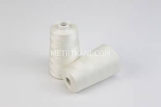 Нитки швейные  5000 ярдов, цвет слоновой кости № N50-40-321
