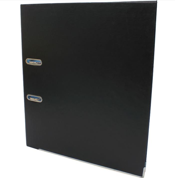 Папка регистратор А4 Economix, 70 мм, черная E39721*-01