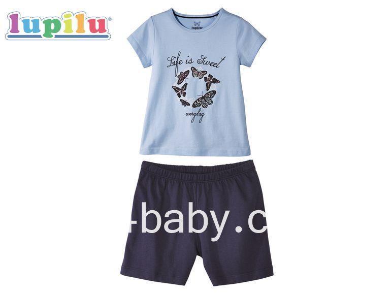 Дитяча піжама Lupilu на дівчинку 1-2 роки, зростання 86/92 см