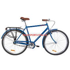 Городской велосипед Dorozhnik Comfort Male 28 дюймов синий