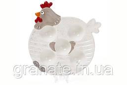 """Тарелка Пасхальная """"Курочка"""", Подставка для яиц 21см (2 шт)"""