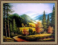 Картина в багетной раме Горная тропа 400х600 мм №325