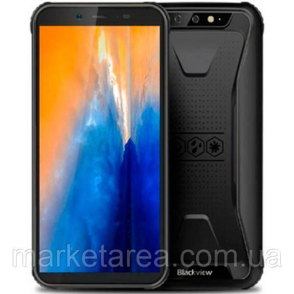 """Защищенный смартфон Blackview BV5500 black черный IP68 (2SIM) 5,5"""" 2/16ГБ 2/8+0.3Мп 3G Гарантия!"""