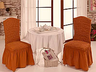 Чехол на стул Кирпичный цвет, фото 1