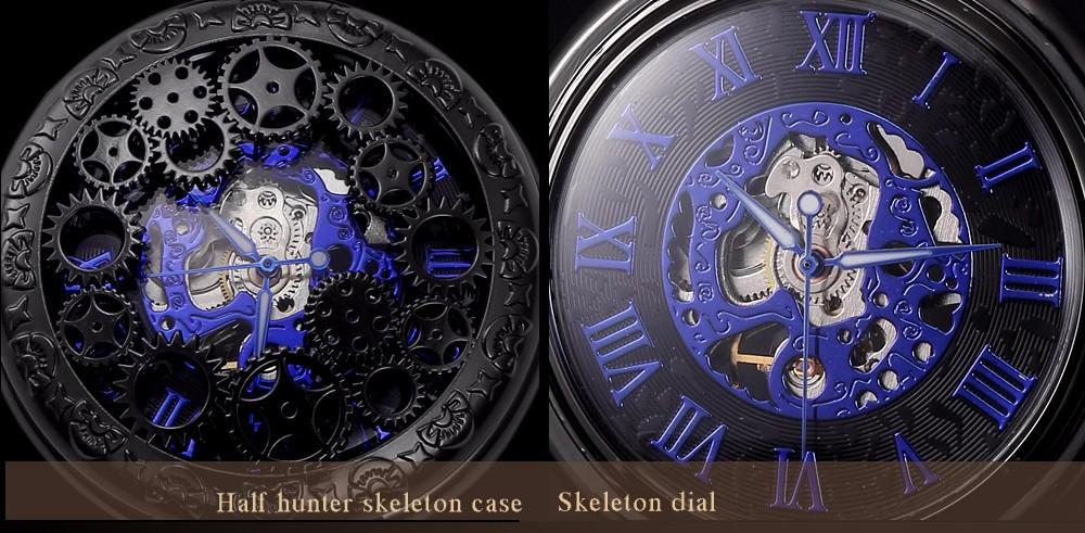 Механические карманные часы ВАХТА KS №0034