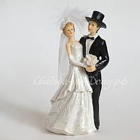 Фигурка на свадебный торт, 15 см