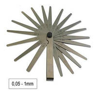 JBM Набор щупов метрических (19 шт) (0.05-1mm) , фото 1