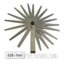 JBM Набор щупов метрических (19 шт) (0.05-1mm)