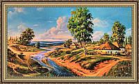 Картина в багетной раме Украинский пейзаж 330х700 мм №378