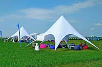 Палатка Звезда-8, туристическая маленькая (цвет белый), фото 1