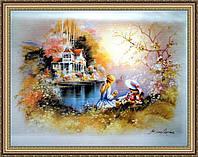 Картина в багетной раме Детство 400х600 мм №501
