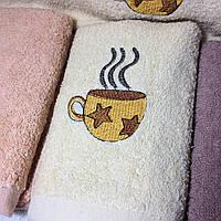 Кухонные полотенца (махровые) 70х35. Модель KM-58