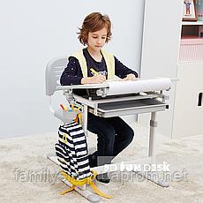Детская парта-растишка со стульчиком FunDesk Bambino Grey, фото 2